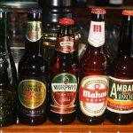 foto de castellana 113 bar con muestra de cervezas en la barra