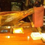 foto de pata de jamón en castellana 113 bar