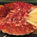 plato de ibéricos y queso curado castellana 113 lounge & bar